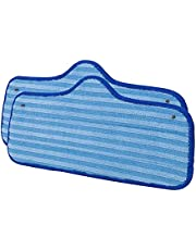 Ivation 2 Microfiber Pads for IVATCSC7 Steamer Rplacement