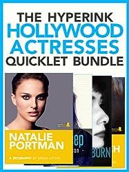 The Hollywood Actresses Biography Bundle (Natalie Portman, Meryl Streep, Audrey Hepburn, Dame Judi Dench)