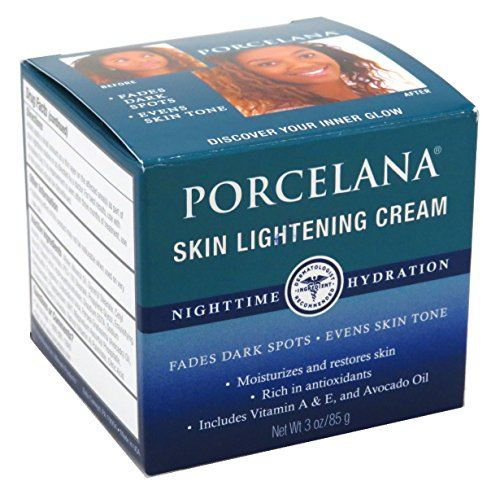 Porcelana Skin Lightening Night Cream 3 Ounce (88ml) (3 Pack)