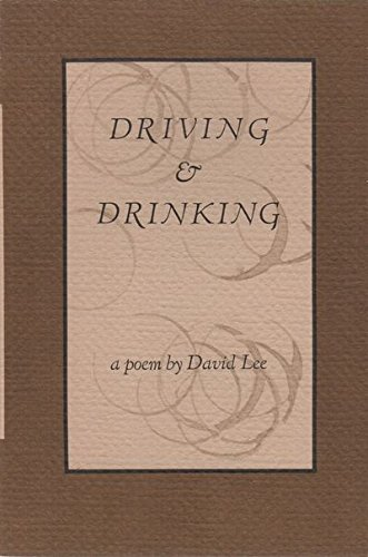 Driving And Drinking, Lee, David