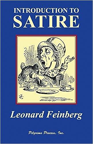 Amazon Com Introduction To Satire 9780979090950 Leonard
