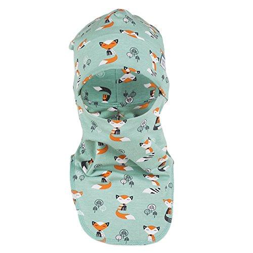 [Breden Kids Children Balaclava Spring - Autumn hat (21.8'' - 22.8'', Blue Fox)] (Hockey Mask For Sale)