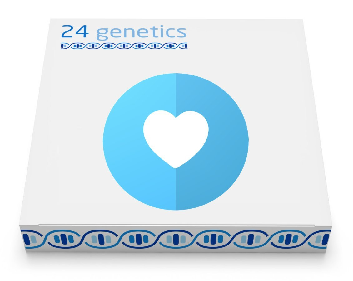 24Genetics - DNA Health Test - 250+ PDF Reports - Pharma - Biormarkers - Traits - Includes at-home swab collection kit