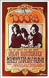 Doors Poster Poster Berkeley 1968 Nice Reprint Signed Silver Ink Bob Masse offers