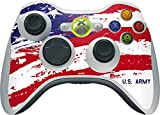 US Army Xbox 360 Wireless Controller Skin - American Flag US Army Vinyl Decal Skin For Your Xbox 360 Wireless Controller
