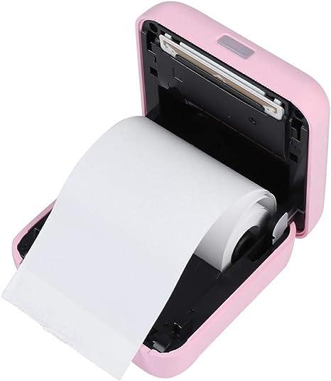Amazon.com: Yoidesu Mini impresora térmica portátil portátil ...