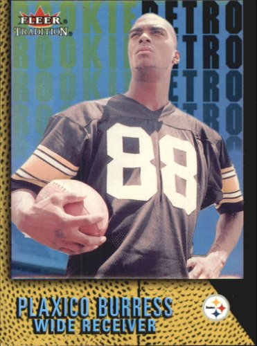 2000 Fleer Tradition Rookie Retro Football Rookie Card #3 Plaxico Burress ()