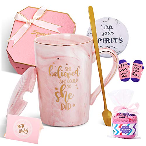 Jumway She Believed She Could So She Did Mug – Congratulations Gifts And Graduation Gifts for Her – Spiritual…