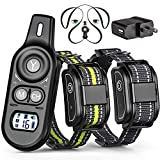 Cheap Veckle Dog Training Collar, 2019 Upgraded Rechargeable Shock Collar for 2 Dogs Waterproof Dog Shock Collar with Remote, Beep, Charging Seat, Vibration Dog Electronic Collar for Large and Medium Dogs