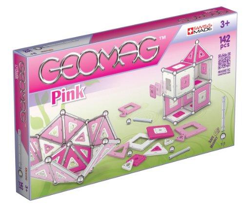 Geomag 343 - Pink Panels, 142-teilig