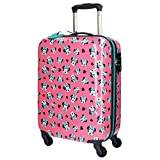 Disney Minnie Wink Travel Garment Bags Trolley Rigid for Children Four Wheels