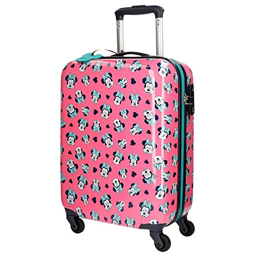 Disney Minnie Wink Travel Garment Bags Trolley Rigid for Children Four Wheels by Okami Bags