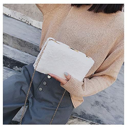Houyazhan Femmes Bandoulière Sac Petits Pour Peluche Sacs White Khaki color De Forme En Femme À Main 1xnIRagwqx