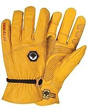 StoneBreaker Gloves Horseman Large Work Glove Large Yellow