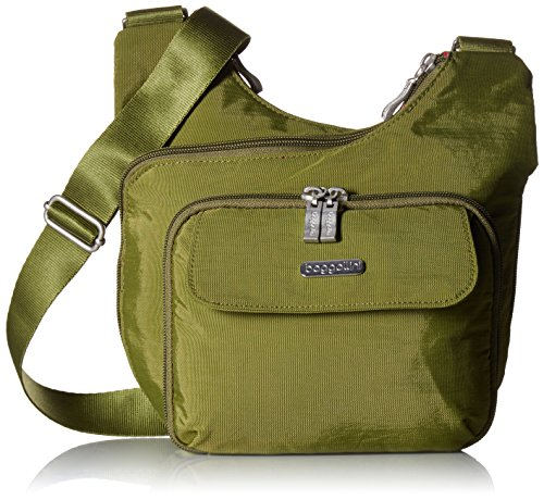 Bagg Purse Cross Body (Baggallini Criss Cross Crossbody Bag – Lightweight, Water-Resistant Travel Purse With Multiple Pockets, Zippered Interior and Exterior Pockets and Built-In Wallet)