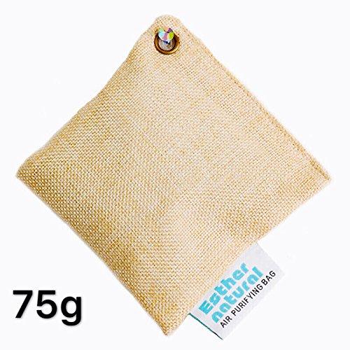 Charcoal Air Purifying Bags 4 Pk Natural Bamboo Purifier And Dehumidifier For