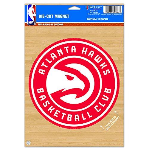 - WinCraft NBA Atlanta Hawks Die Cut Logo Magnet, 6.25