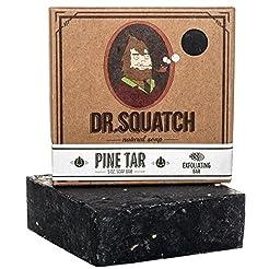 Dr. Squatch Pine Tar Soap - Mens Soap wi...
