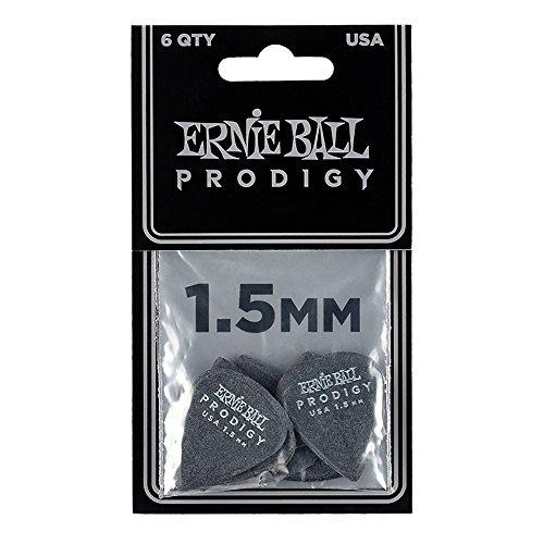 uitar Picks, Black, 1.5 mm ()