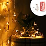 accmor 2 x 20 LEDs Fairy Lights, Battery Powered