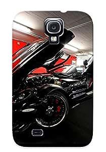 Galaxy S4 Case Cover - Slim Fit Tpu Protector Shock Absorbent Case (cars Mercedesbenz Mercedesbenz Slr Mclaren )