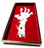 Hand of the Zombie Dice Tray - 12'' x 6'' - For Any Dice Or Board Games, Tabletop RPGs like D&D (DnD), Pathfinder Roleplaying Game