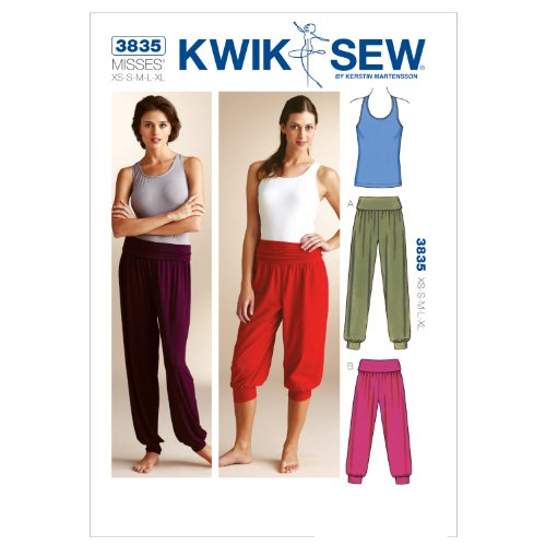 KWIK-SEW PATTERNS Kwik Sew K3835 Top and Pants Sewing Pattern, Size XS-S-M-L-XL by KWIK-SEW PATTERNS