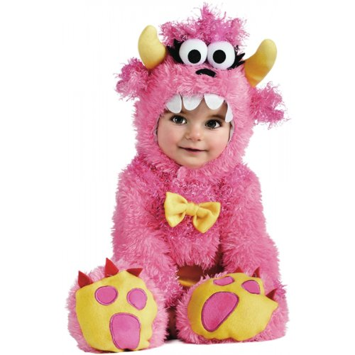 Rubie's Costume Noah's Ark Pinky Winky Monster Romper Costume, Pink, 12-18 (Monster Costumes For Girls)
