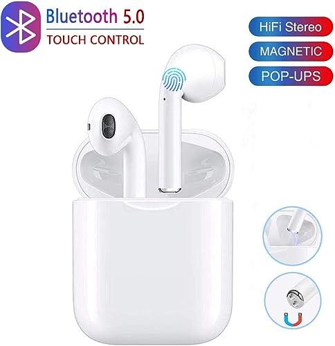 Wireless Earbuds Bluetooth Headphones,Wireless in-Ear Headphones,HD with Mic-Running Headphones,Sport Bluetooth Earphones,Outdoor Portable Bluetooth Earphone,Wide Compatibilit,Charging Box