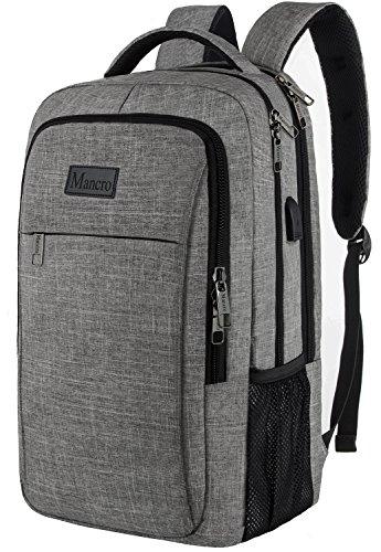 Business Travel Backpack,Mancro Slim Laptop Backpack for ...