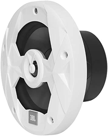 Two Pairs of MS65LW Marine 6.5 Inch White Two-Way RGB-LED Speakers JBL MS65LW