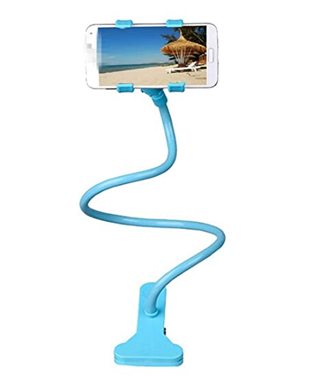 Haodou Soporte para teléfono celular Universal 360 grados de rotación Flexible Soporte para teléfono largo Clip Soporte perezoso Cuello de cuello Pie ...
