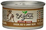 Purina Beyond Natural Canned Cat Food, Grain Free Chicken, Beef and Carrot Recipe, 3-Ounce Can by Purina Beyond