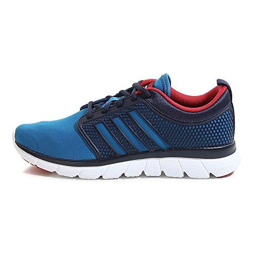 Zapatillas Groove Maruni de hombre Cloudfoam Azuuni Rojpot para adidas deporte Azul Negro vwvnqdIr