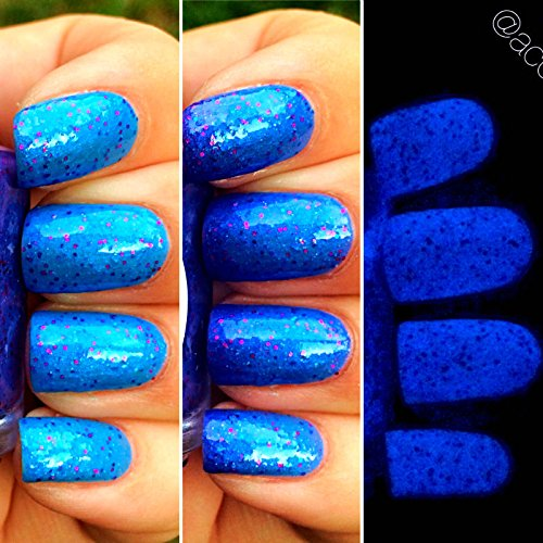 Amazon.com: Fairy Dust Blue to Purple Color Changing AND Glow in the ...