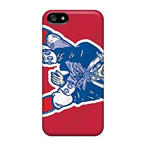 New Style Cases Covers Ayq18756VQIr New England Patriots Compatible With Iphone 5/5s Protection Cases
