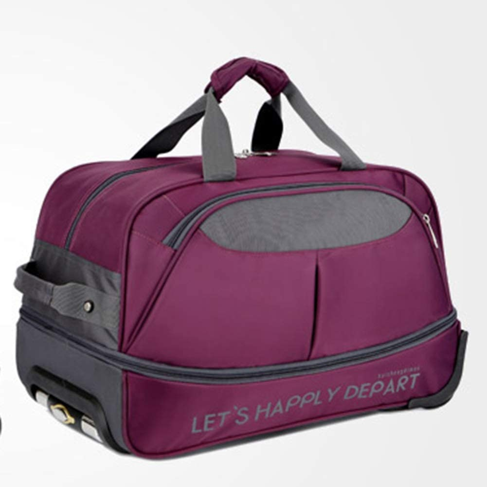 Suitcase Check-in Hold Luggage Travel Trolley Case Trolley Bag Lightweight Expandable Strong Luggage Cabin Bags Travel Portable High Capacity Foldable Expansion GAOFENG