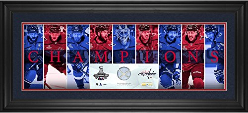 (Washington Capitals 2018 Stanley Cup Champions Framed 10