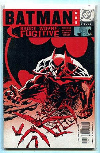 Batman #600 NM Part 1 Bruce Wayne Fugitive 64 Page Issue DC Comics CBX6