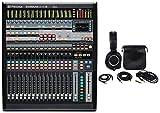 PreSonus StudioLive CS18AI Ethernet/AVB Control Surface + Monitor Headphones