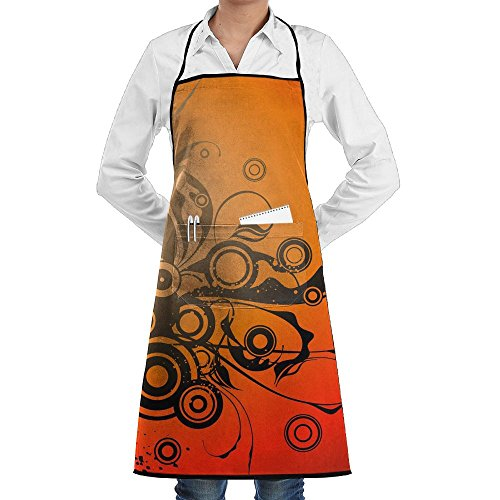 Music Microphone Sewing Aprons With Pocket Kits Adjustable Home Kitchen Apron]()