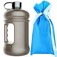 High-Capacity New Wave Enviro Eastar Resin Sports Water Bottles(2.2 Liter)