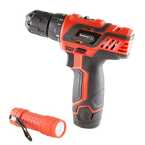Stalwart 75-PT1003 12V Lithium Ion 75 Pc 2 Speed Drill & Accessory Tool Set, by Stalwart (Image #3)