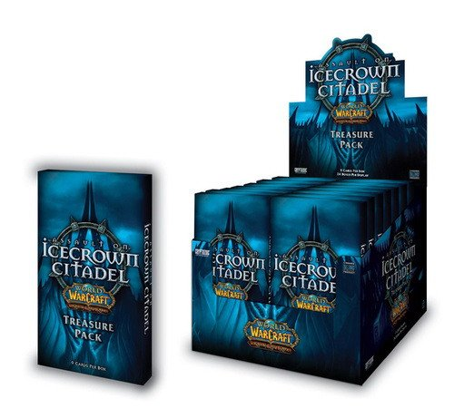 World of Warcraft Assault on Icecrown Citadel Treasure Pack Box [Toy]
