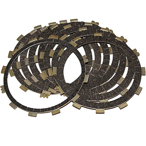 Caltric CLUTCH FRICTION PLATES Fits YAMAHA XVZ1300CT XV-Z1300CT Royal Star 1300 Tour Deluxe S 2008-2014 (Star Deluxe Yamaha Royal Tour)