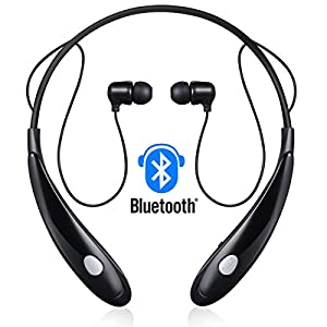 redlink bluetooth stereo headset water resistant neckband sport earbuds cvc6 0 noise. Black Bedroom Furniture Sets. Home Design Ideas