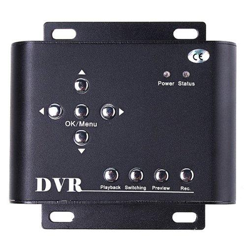 Docooler® 2CH Car Security Mini DVR SD Video/Audio CCTV Recorder