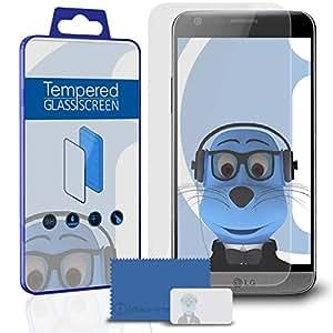 iTALKonline LG G5/G5se 6Pack LCD Protector de pantalla protectora de cristal templado con microfibra Pulido paño de limpieza y tarjeta de aplicación