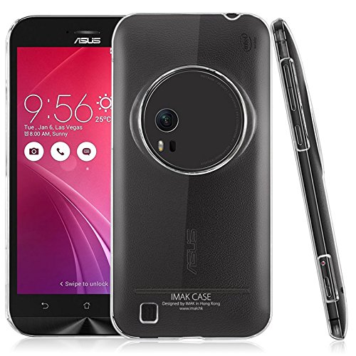 Heartly Imak Crystal Clear Hot Transparent Thin Hard Back Case Cover for Asus Zenfone Zoom ZX551ML
