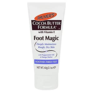 Palmers Cocoa Butter Foot Magic Moisturizer 2.1 Ounce Tube (62ml) (2 Pack)